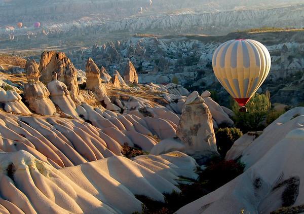 Snow-CoveredWonderland - Cappadocia, Turkey
