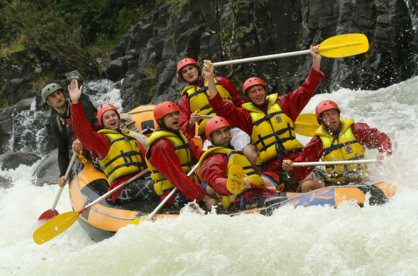 Cairns Australia White Water Rafting