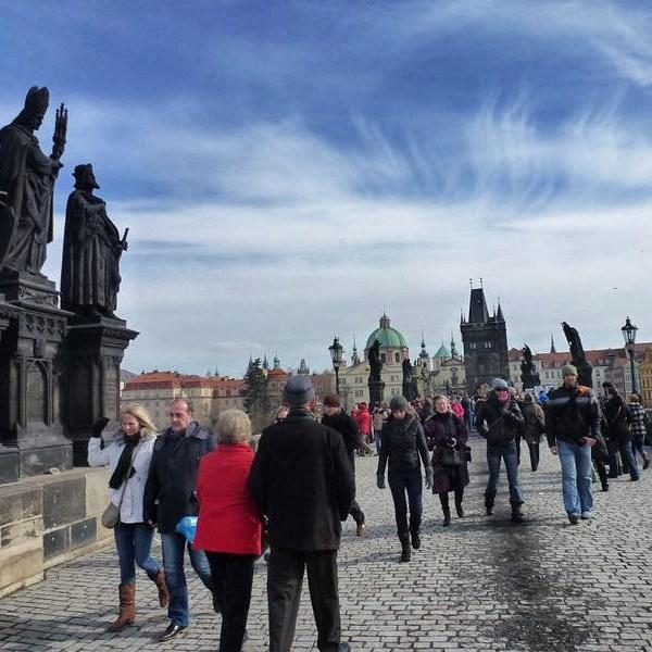 Prague's Charles Bridge