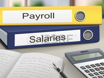 35449576-payroll-and-salaries-binders-isolated-on-the-office-table