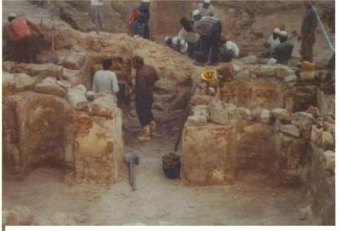 The house and room where Muhammad and Khadija lived.