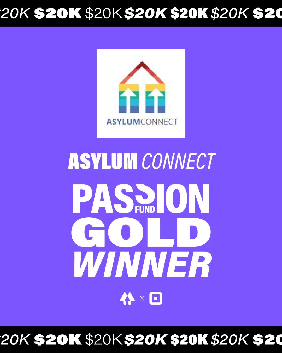 AsylumConnect Wins Gold in the 2021 Passion Fund by Linktree x Square