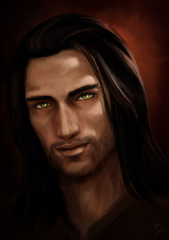 Character Art for Adrian by Lucy Zhu for Bloodlines