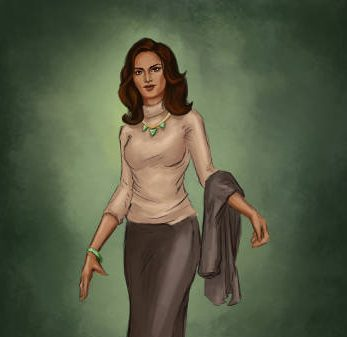Character Art for Sofia by Lucy Zhu for Bloodlines