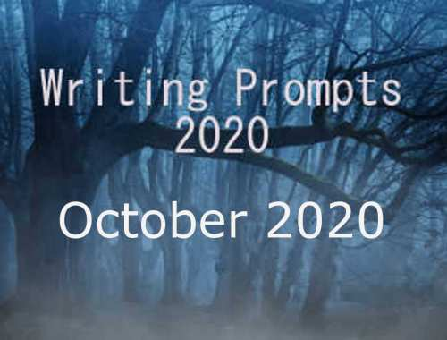 2020 Writing Prompts Oct