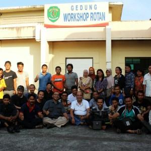 Pelatihan Furniture dan Kerajinan Rotan Bersama UPTD P3UKM Samarinda Kalimantan Timur