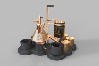 Syphon Coffee Balance 4