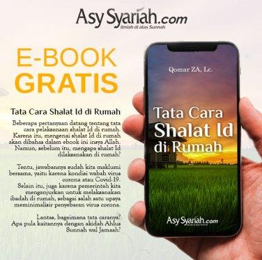 ebook buku gratis Tata Cara Shalat Id di Rumah
