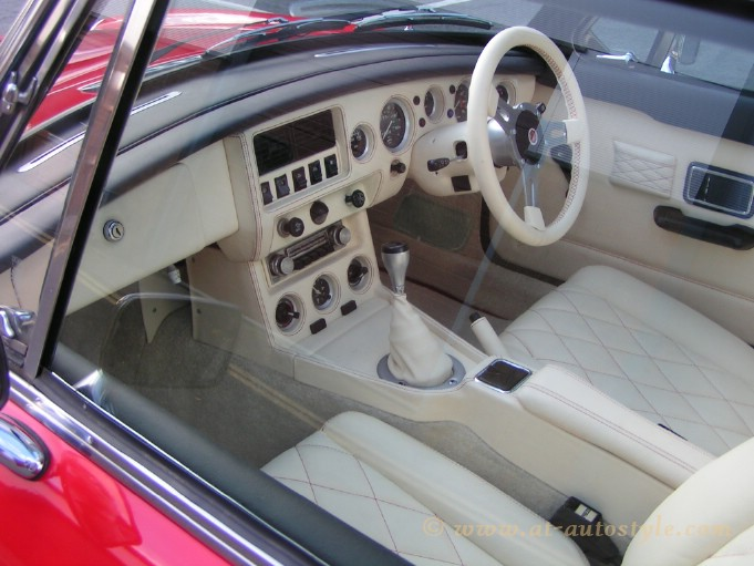 MGB GT Interior AampT Autostyle