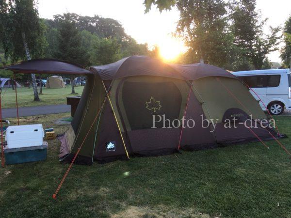 滋賀から北海道家族旅行 上富良野日の出公園キャンプ場