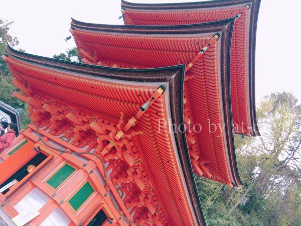 竹生島 宝厳寺 三重塔