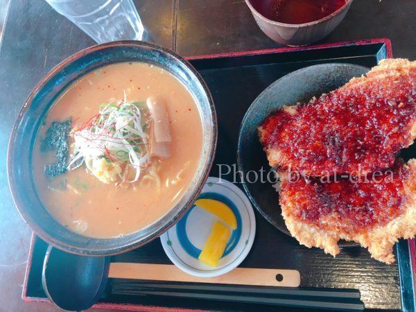 小浜こだま食堂 鯖ラーメンセット