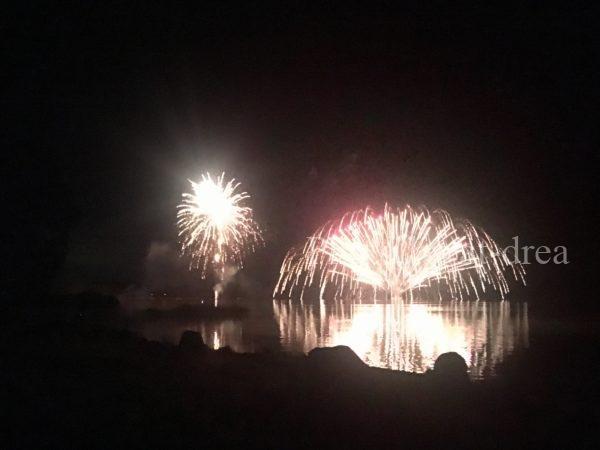 女満別湖畔キャンプ場 夏祭り花火大会