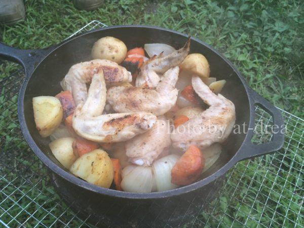 七輪 煮込み料理