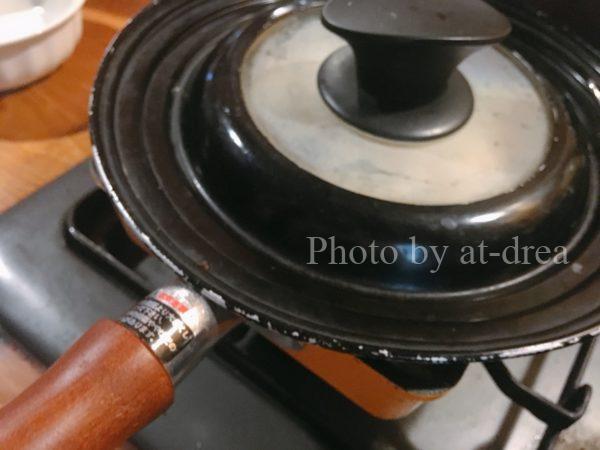 日本製卵焼き器 柑 ご飯の温め直し