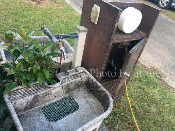 赤礁崎オートキャンプ場 水道電源付きサイト
