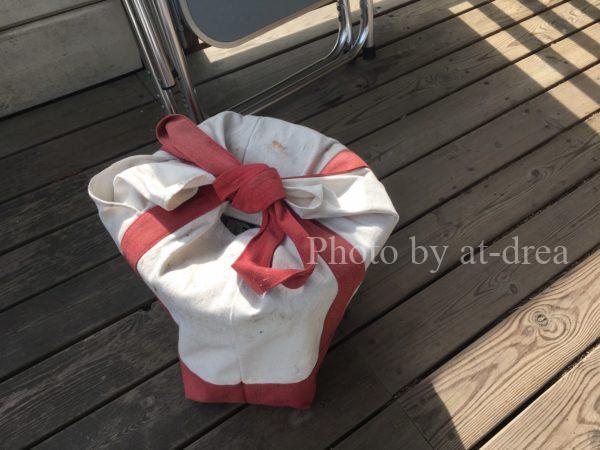 七輪 持ち運び 帆布