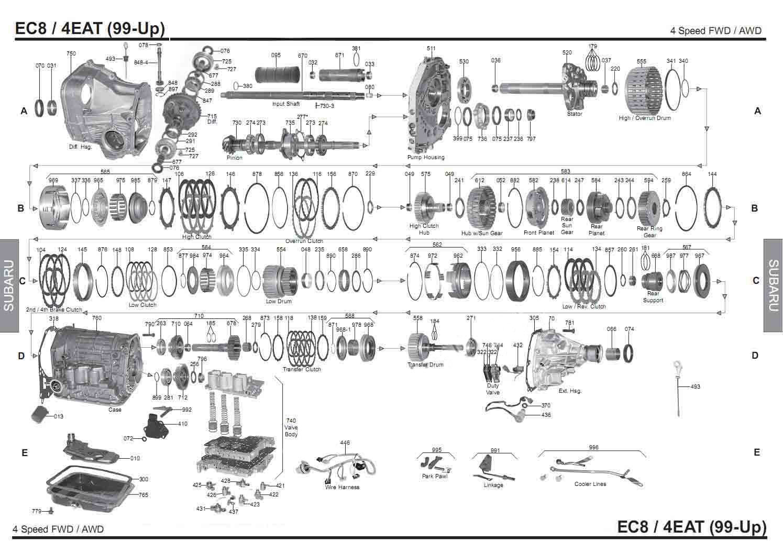 Transmission Repair Manuals 4eat