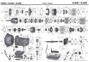 Transmission repair manuals 700R4 (4L60E, 4L65E ) | Instructions for rebuild transmission