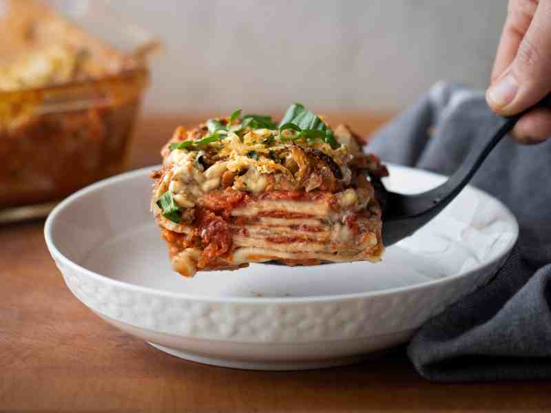 Yes, it's vegan Lasagna, and gluten-free too!