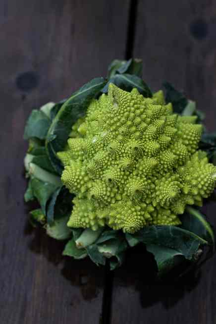 romanesco cauliflower close up