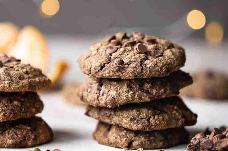 Cardamom Tangerine Gluten-Free Cookie Recipe, 1-Bowl Dessert!