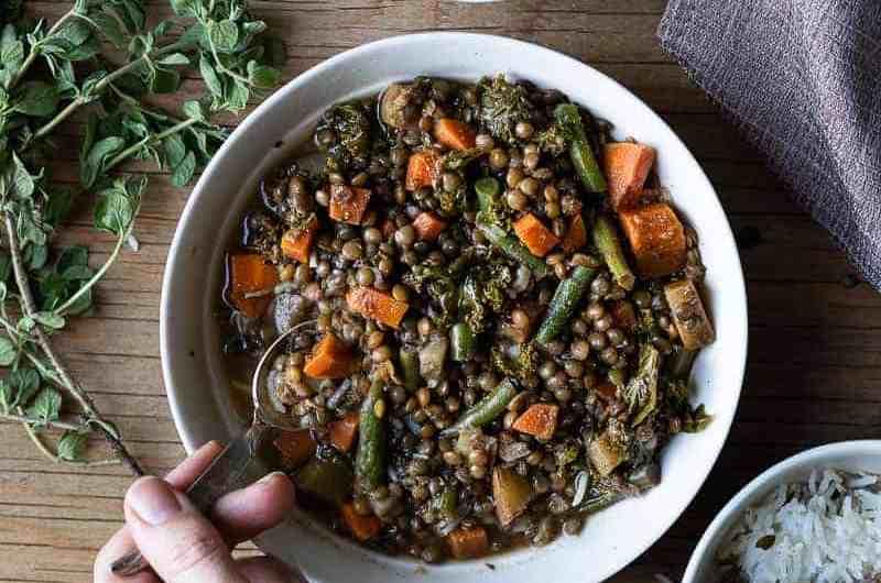 Easy Meal Prep Recipe, Comforting Lentil Stew.