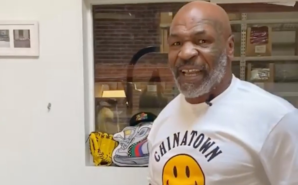 Did You Miss Watching Mike Tyson In the Ring? Well, He's Back and Looks Like He Hasn't Missed a Step