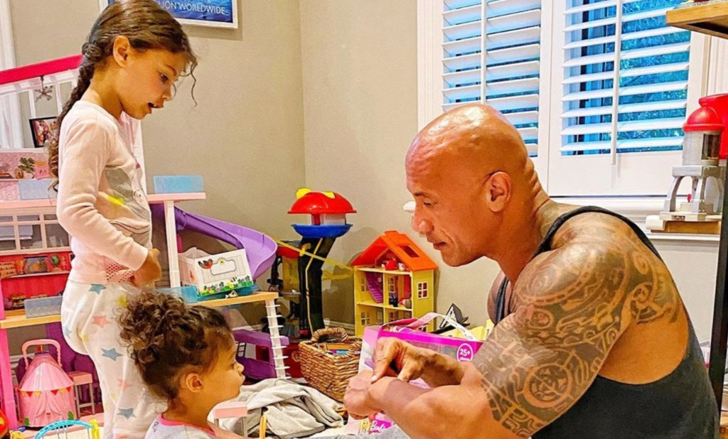 The Rock Reveals His Whole Family Has Tested Positive for COVID-19