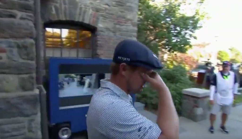 Bryson DeChambeau Wins U.S. Open Get Emotional Seeing His Parents on a Video Call