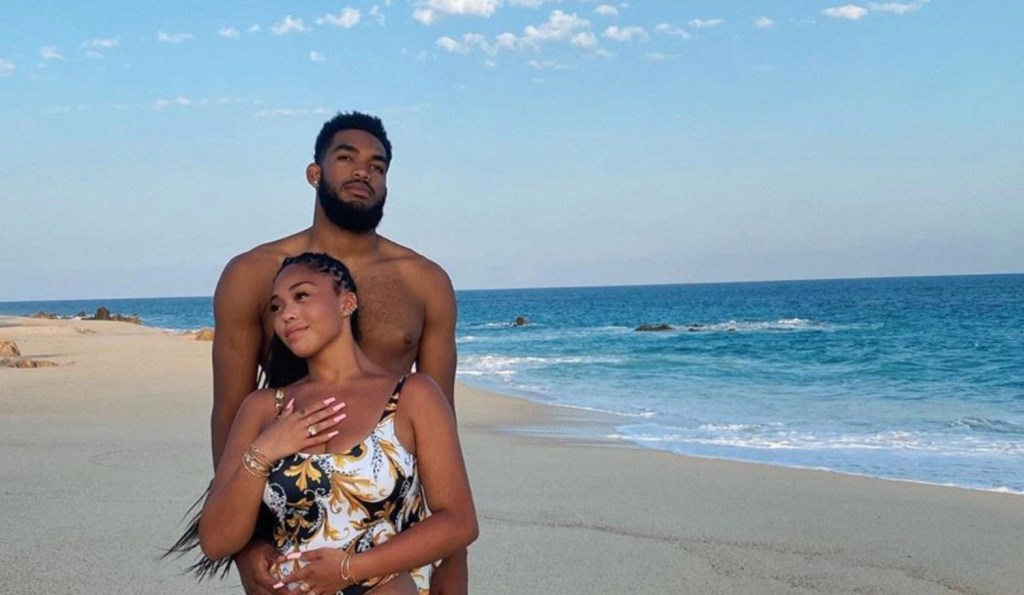 Karl-Anthony Towns and Girlfriend Jordyn Woods Are Supporting Each Other Through Dark Times
