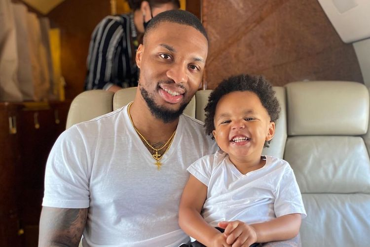 Damian Lillard and Fiancée Kay'La Hanson Expecting Not One, But Two Babies