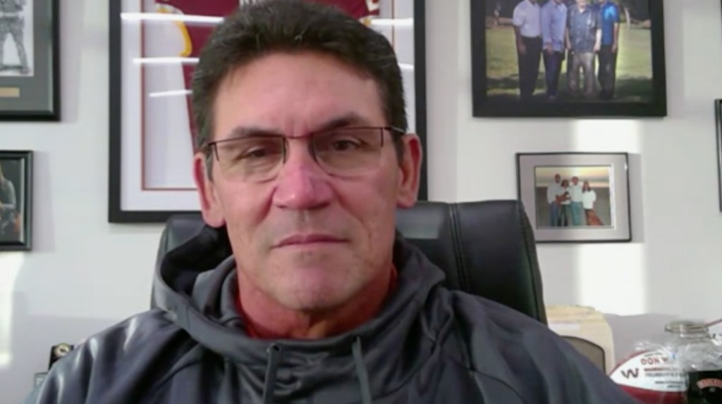 Washington Football Coach Ron Rivera Plans to Continue Coaching While Battling Cancer