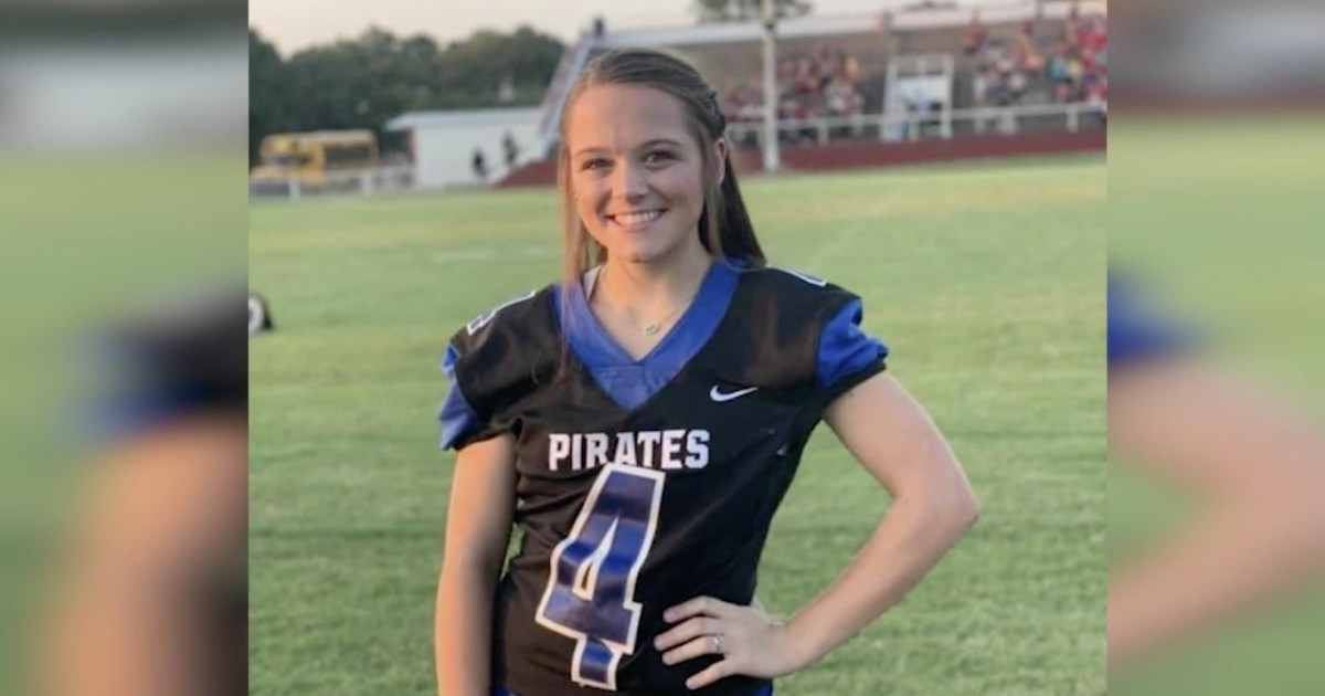 Cheerleader Hospitalized After Goalpost Falls on Her, Pinning Her to the Ground