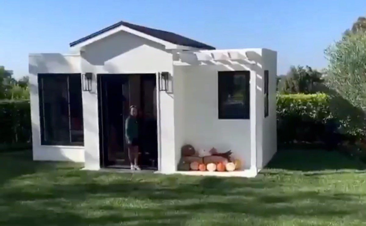 LeBron James Gives Daughter Epic Mini House for Her Birthday