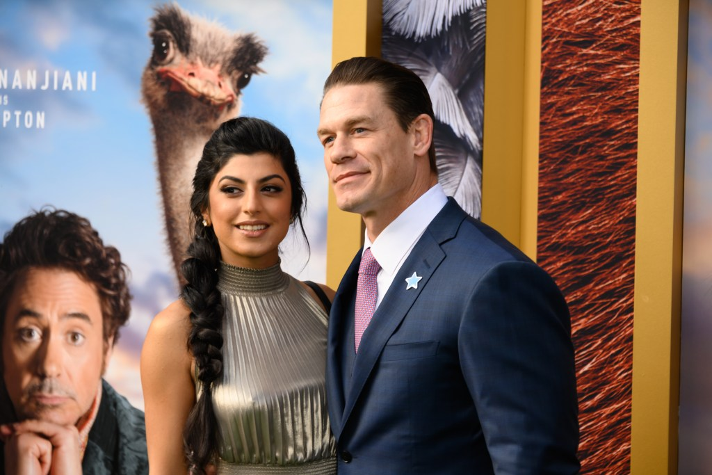 WWE's John Cena Has a New Bride After Secretly Getting Hitched to Shay Shariatzadeh