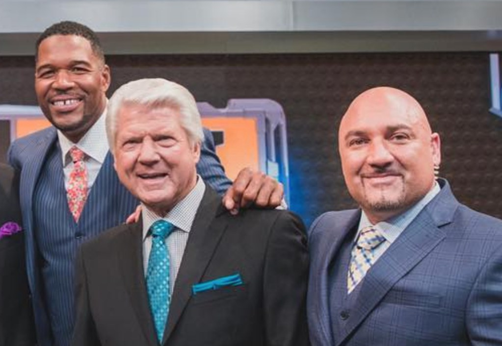 Michael Strahan And Jay Glazer Share Hilarious Attack Ads Fighting Over Who Will Give Jimmy Johnson's Hall Of Fame Speech