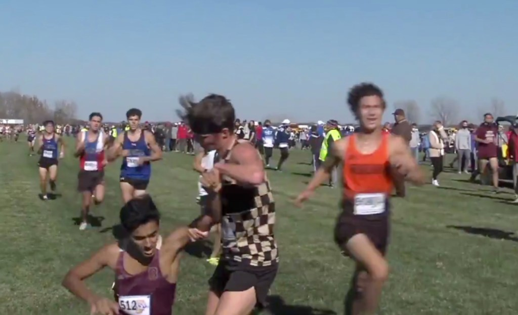 'That's How My Parents Raised Me' High School Cross Country Runner Gets Noticed After Helping Opponent Across Finish Line