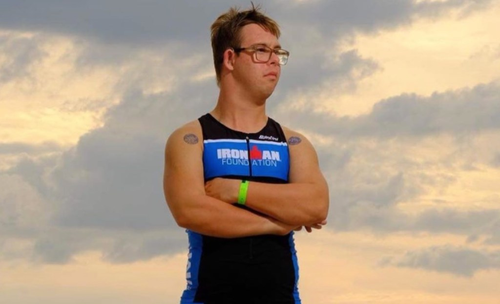 Athlete Makes History By Becoming First Person With Down Syndrome To Complete An Ironman Race