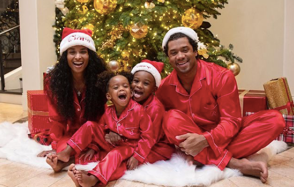 'Tis The Season: Gift Shopping And Caroling With Russell Wilson, Ciara, And Their Family