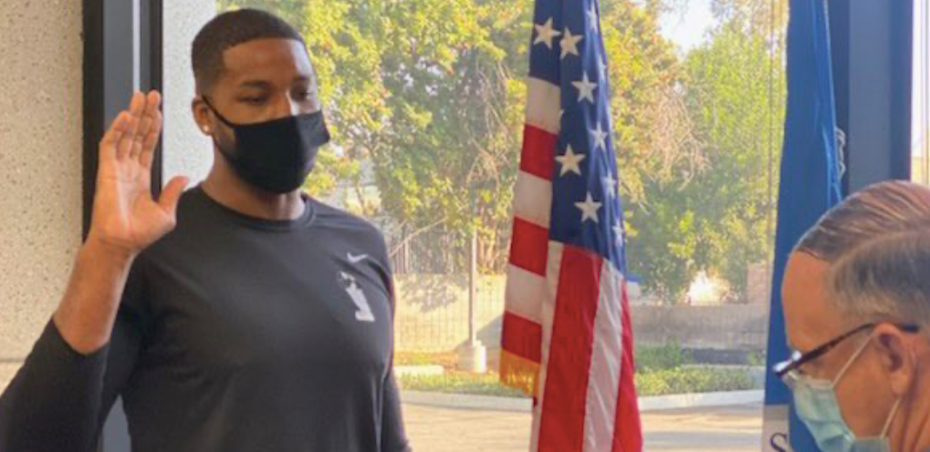 Tristan Thompson Becomes US Citizen: 'I'm Now Truly Living The American Dream'