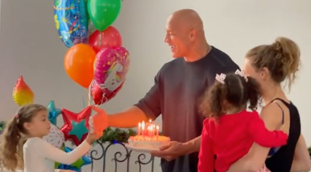 Dwayne 'The Rock' Johnson Celebrates Daughter's 5th Birthday: 'One Day…You'll See What I See…The Gift That You Are'