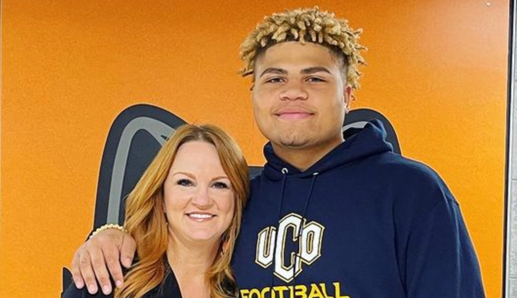 Ree Drummond's Foster Son, Jamar, 'Officially Signed To Play Football At The University Of Central Oklahoma'!