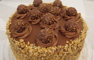 Guest Post: 5-Layer Ferrero Rocher Nutella Dream Cake