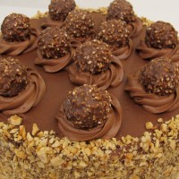 5-Layer Ferrero Rocher Nutella Dream Cake