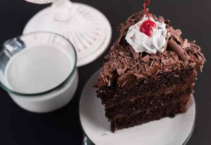 Portal Cake Homemade Chocolate Cake With The Best Milk Chocolate
