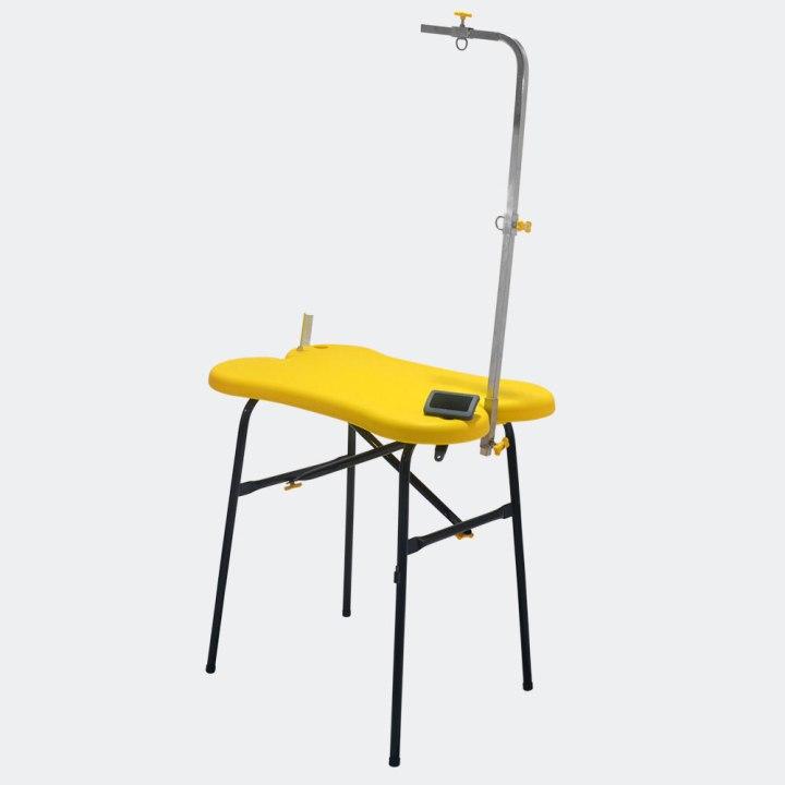 mesa de tosa para pet shop atacama amarela