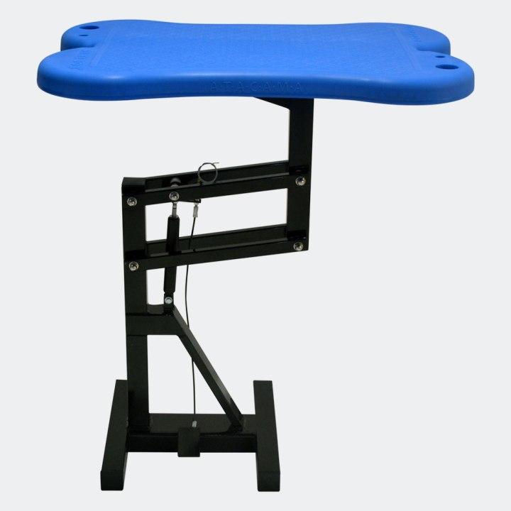 mesa-de-tosa-pneumatica-azul-lateral