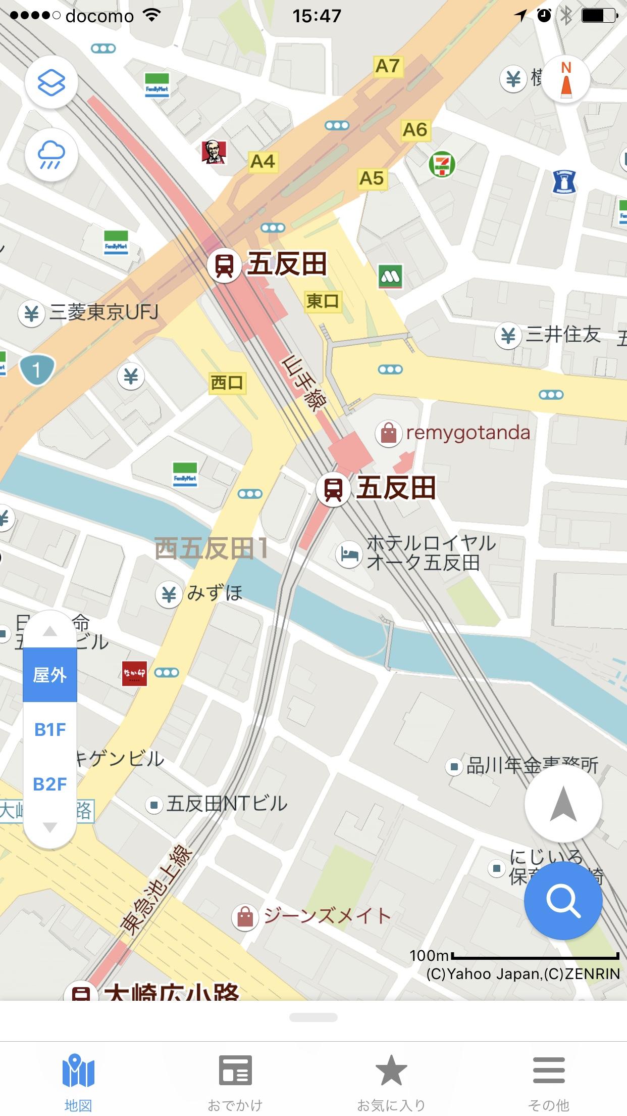 Yhoo Map on