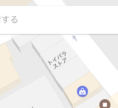 Google Map detail of north Asagaya